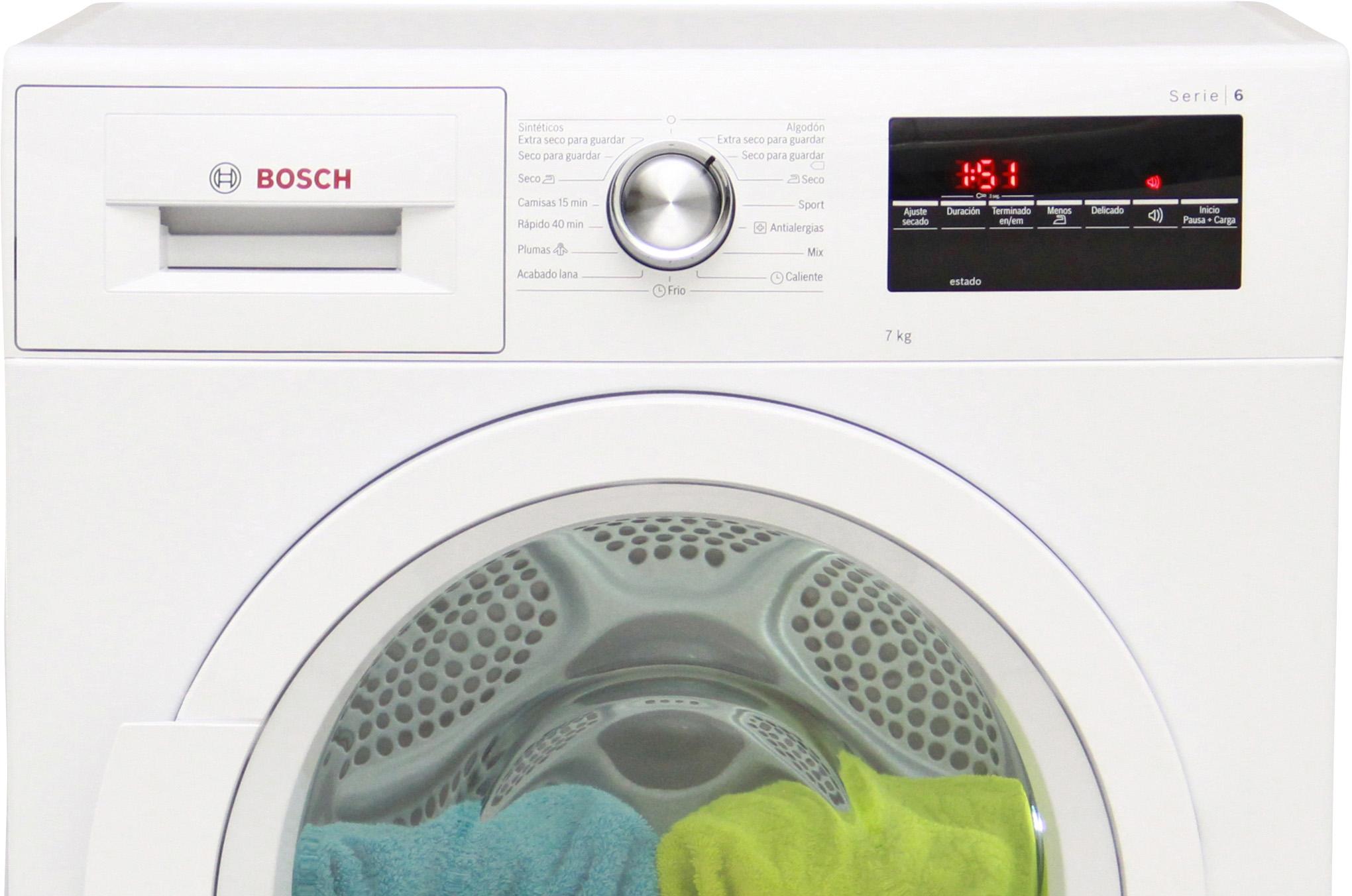 Analisis De Bosch Wtg86262es Comparador De Secadoras Ocu