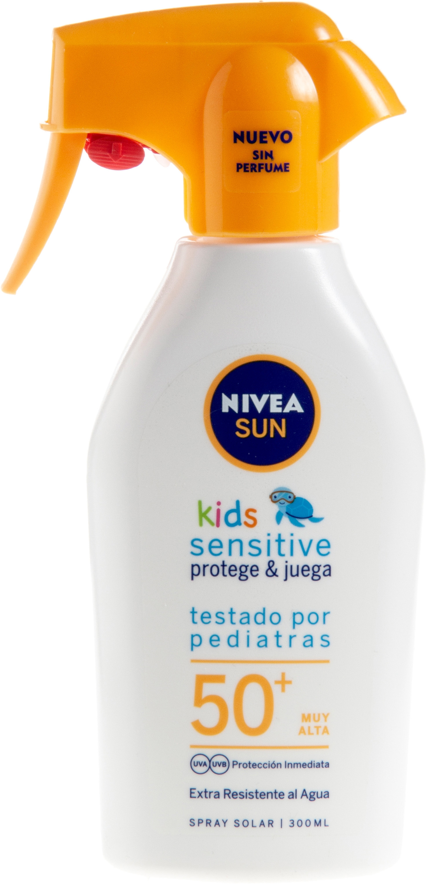 Sensitive Protege & Juega Spray Solar SPF 50+
