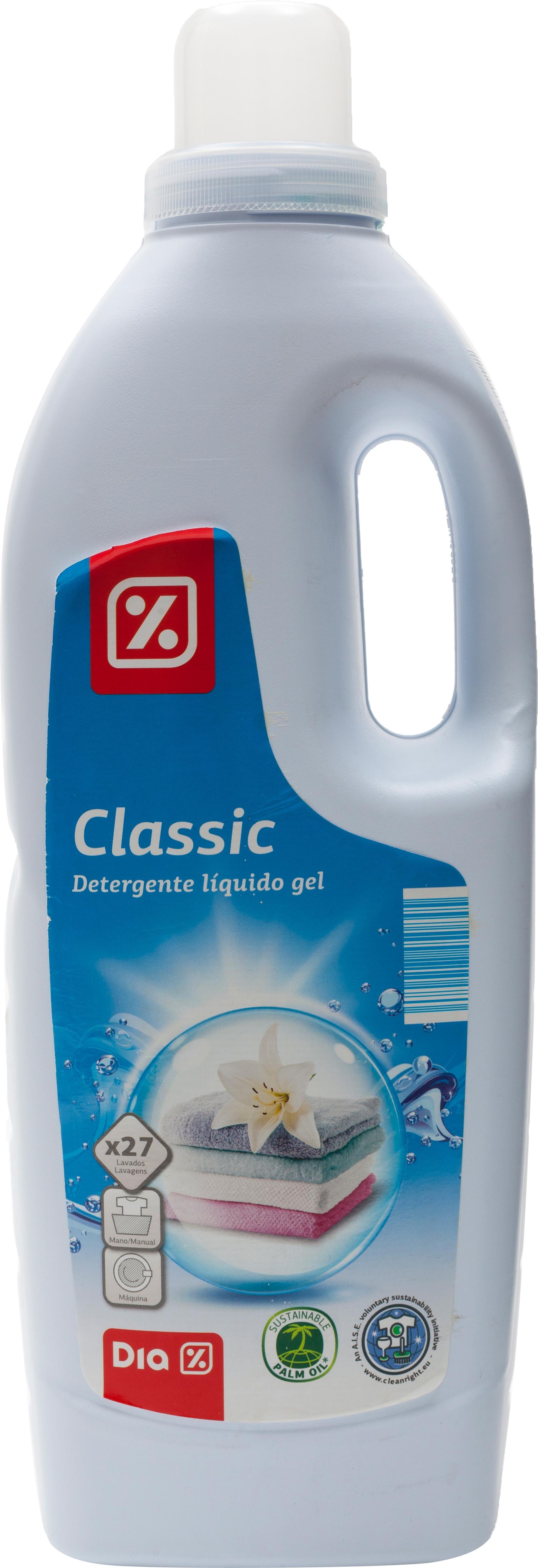 An Lisis De Dia Classic Detergente L Quido Gel Comparador De  ~ Mejor Detergente Lavadora Calidad Precio