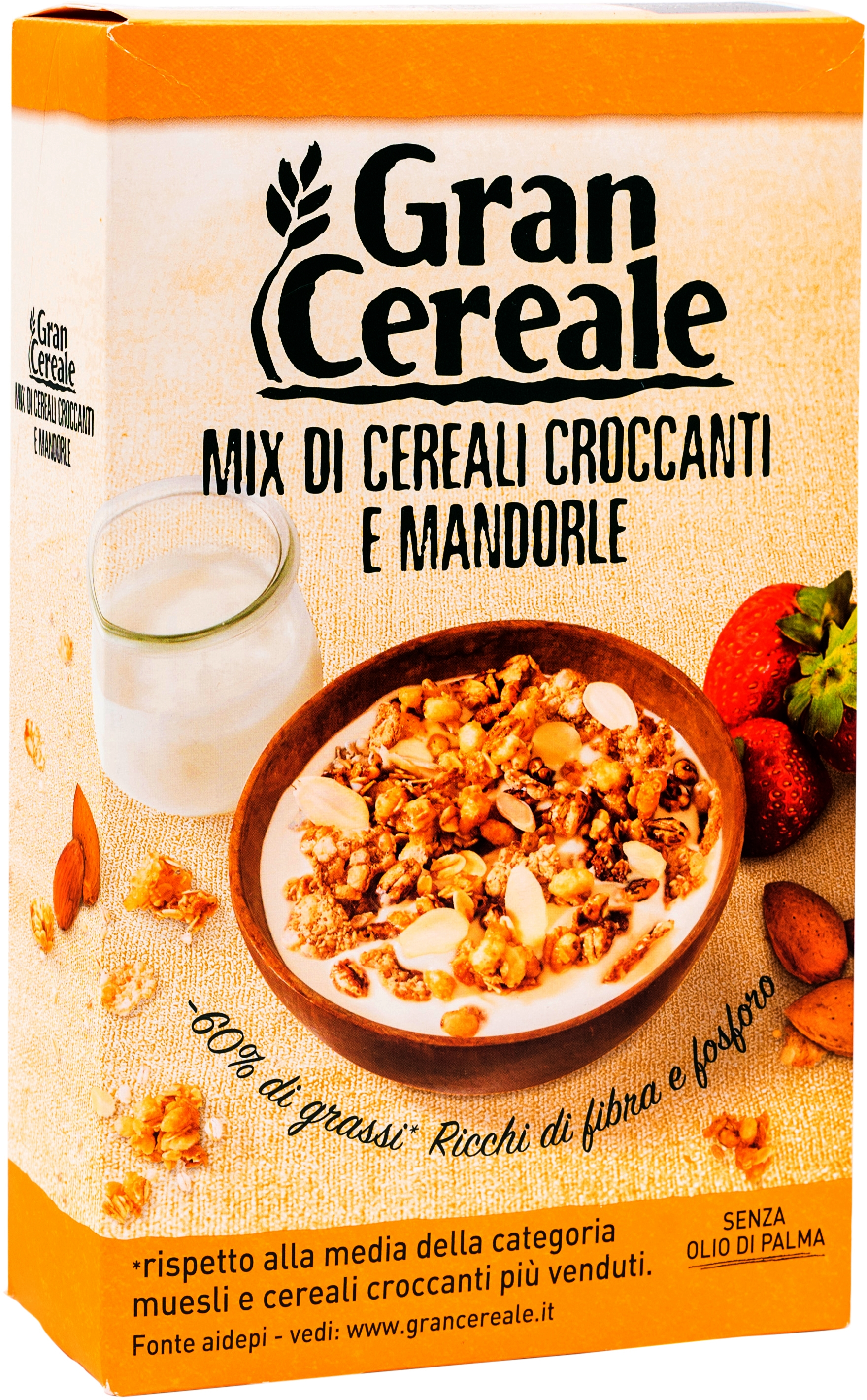 MIX DI CEREALI CROCCANTI E MANDORLE