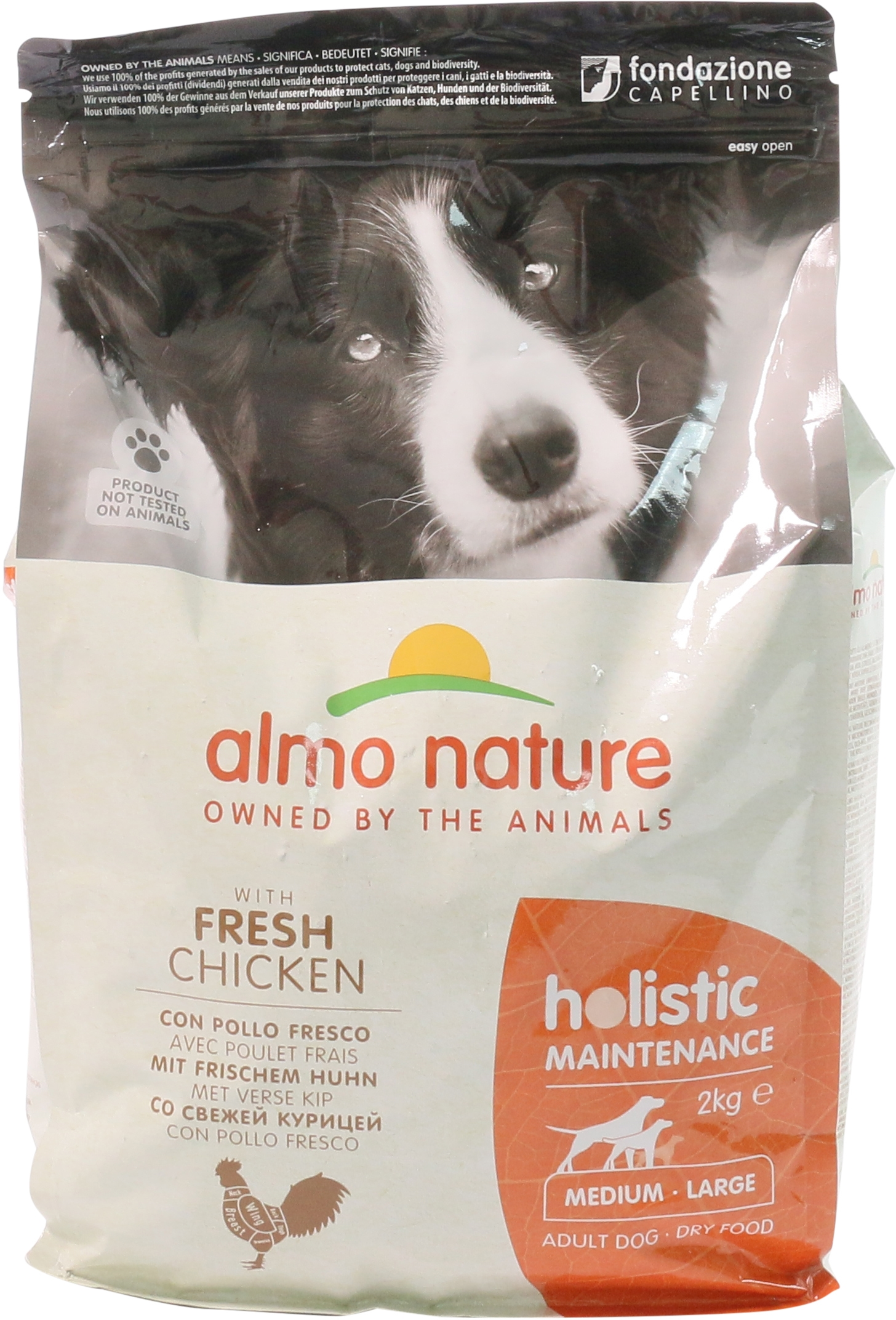 HOLISTIC MAINTENANCE CON POLLO FRESCO MEDIUM- LARGE ADULT DOG