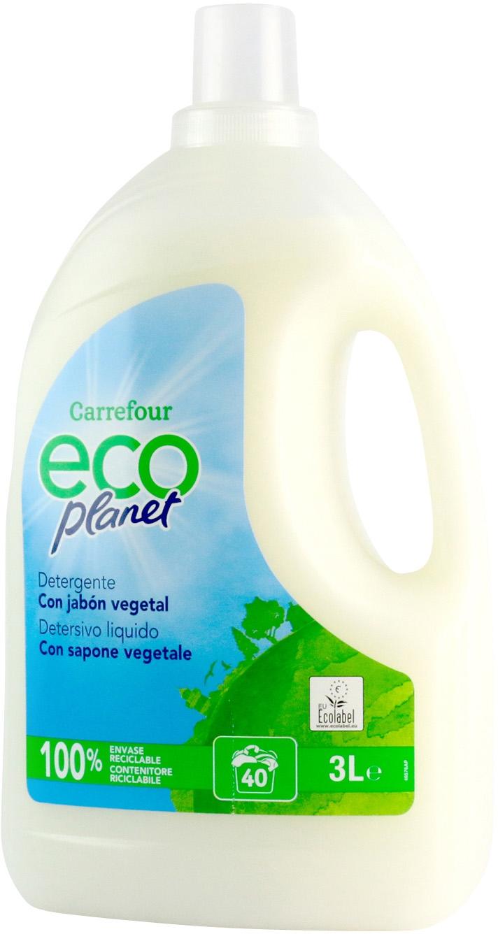 An Lisis De Carrefour Eco Planet Detergente Con Jabon Vegetal  ~ Mejor Detergente Lavadora Calidad Precio