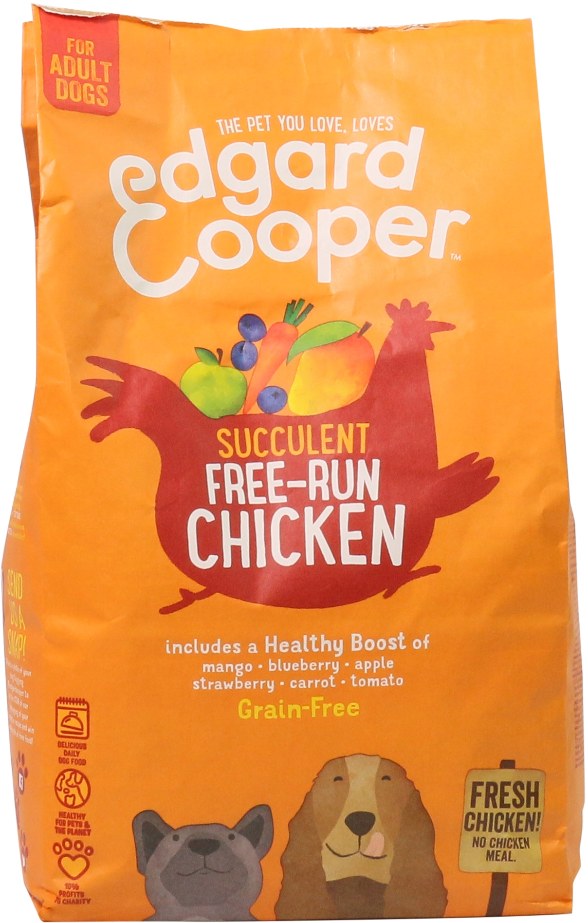 FOR ADULT DOGS FREE-RUN  CHICKEN (GRAIN-FREE)