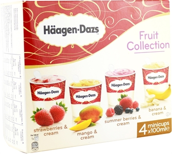 HÄAGEN-DAZS FRUIT COLLECTION STRAWBERRIES AND CREAM | Test y Opiniones HÄAGEN-DAZS FRUIT COLLECTION STRAWBERRIES AND CREAM | OCU