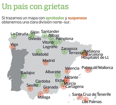 Calidad de vida en las ciduades españolas