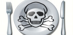 Veneno en nuestro plato: alimentos contaminados