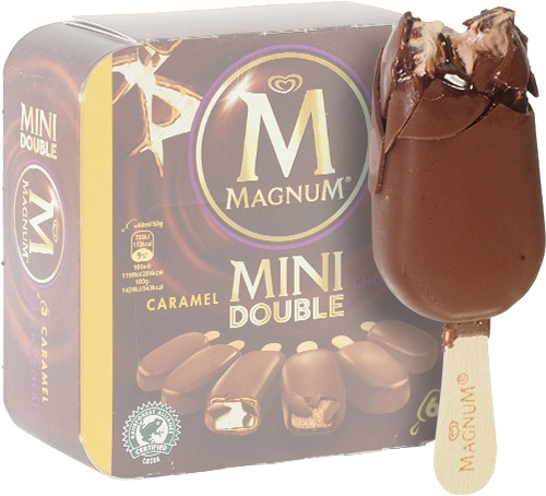 Magnum Mini Double  (Gusto Caramello)