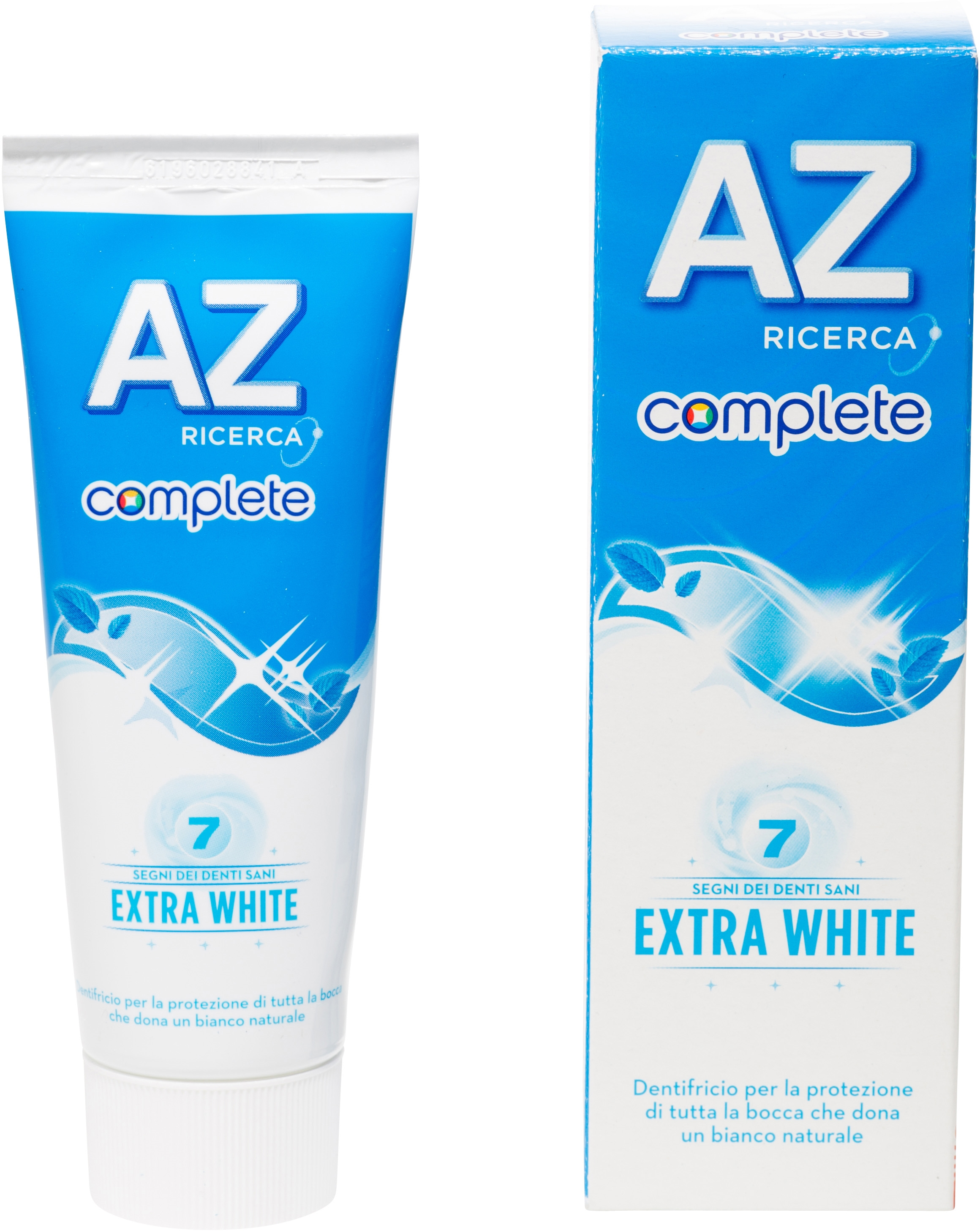 Complete - Extra white