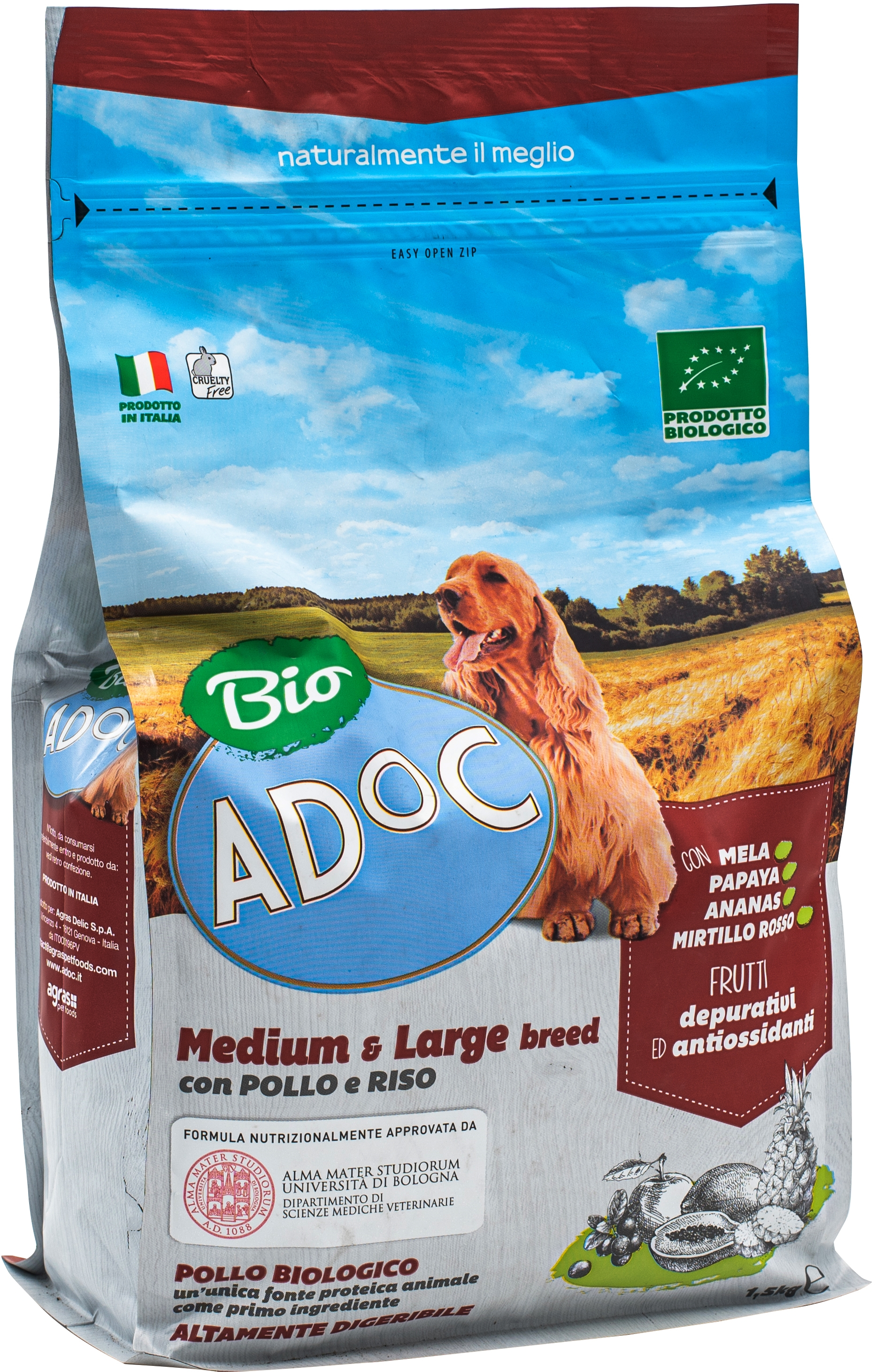 BIO MEDIUM & LARGE BREED CON POLLO E RISO