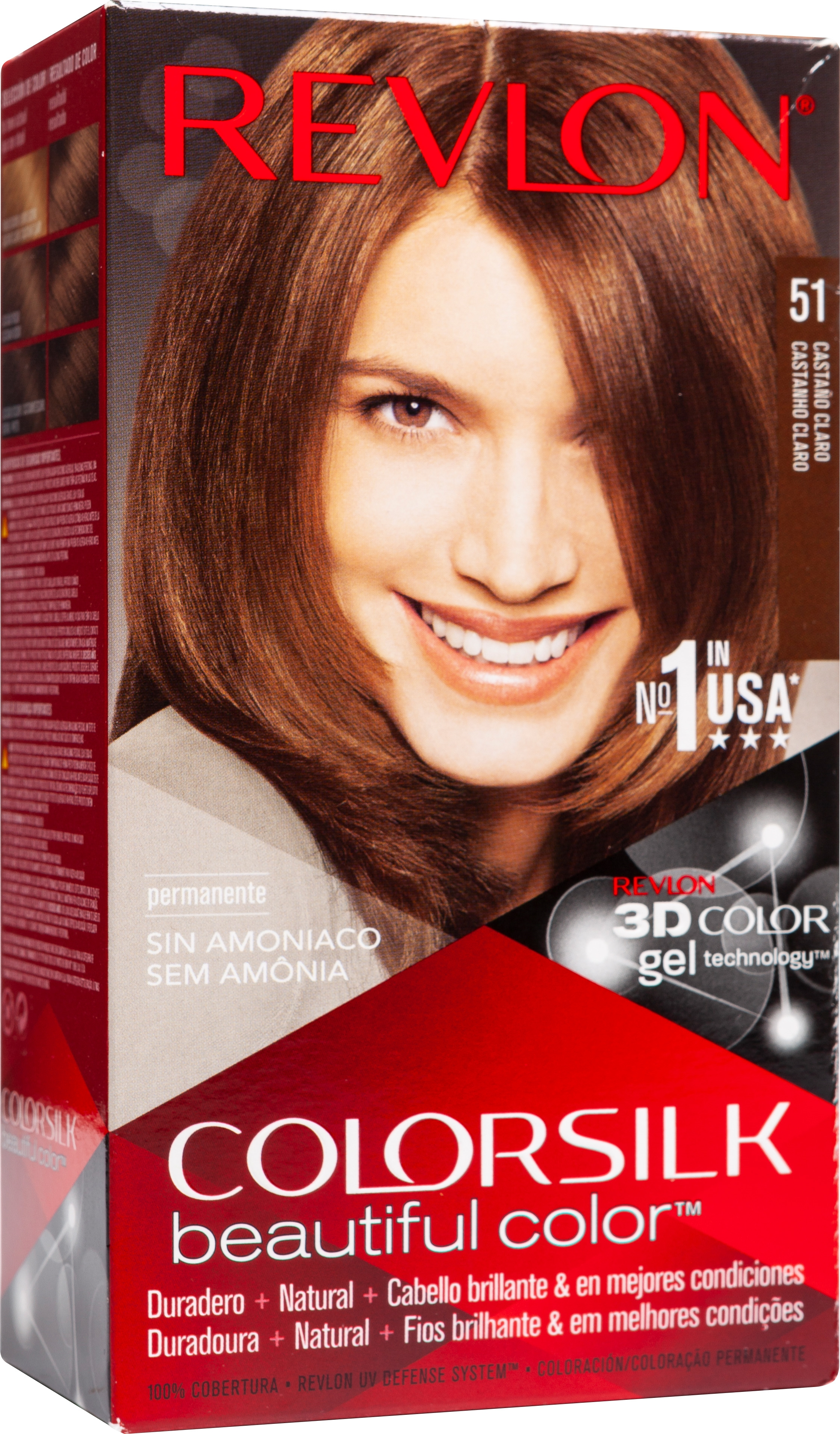 Colorsilk Gel 51 castaño claro