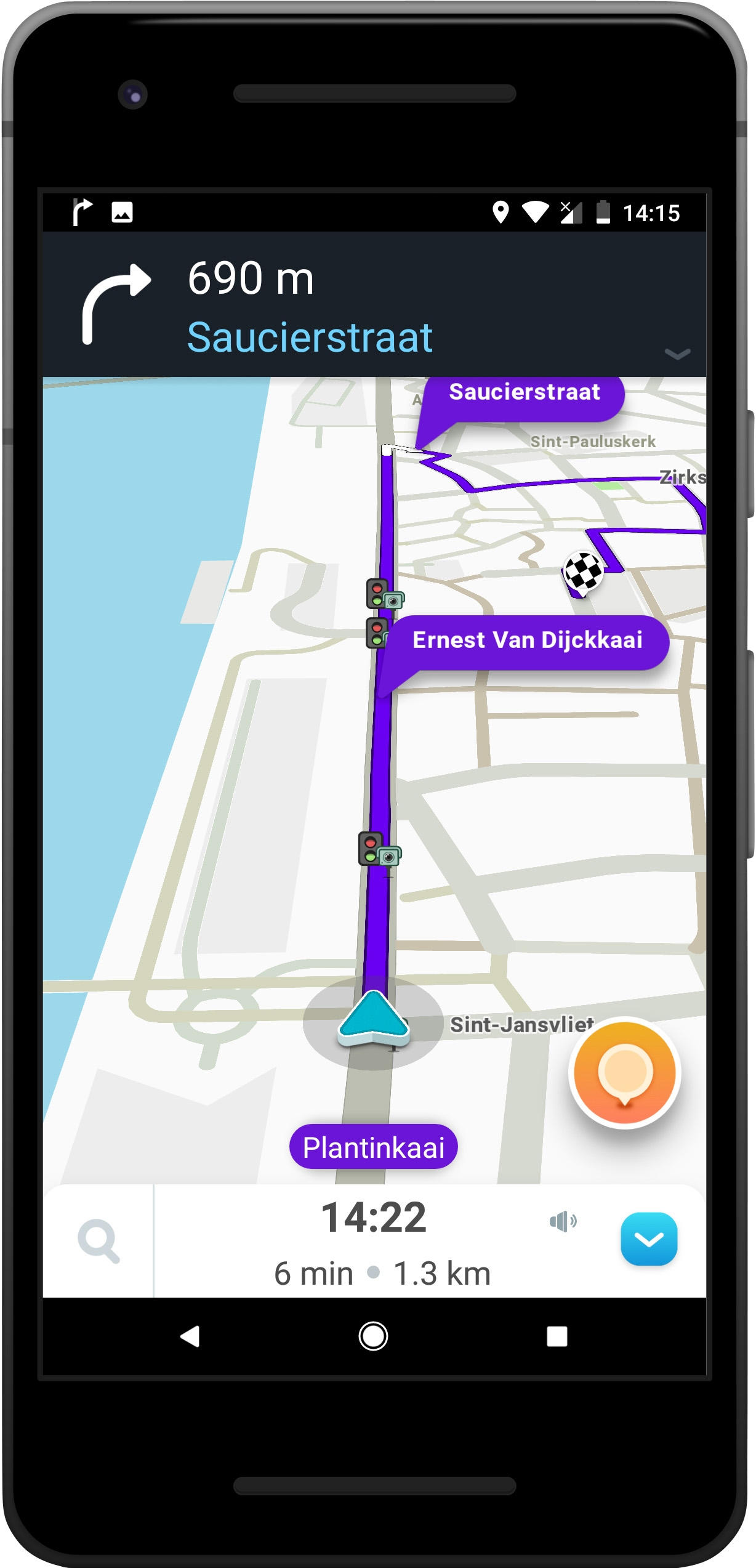 GPS, Maps, Traffic Alerts & Live Navigation (Android)