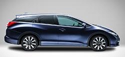 Honda Civic Tourer, opción familiar a lo grande