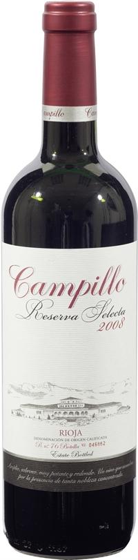 CAMPILLO Reserva Selecta, Reserva, 2008, Tinto