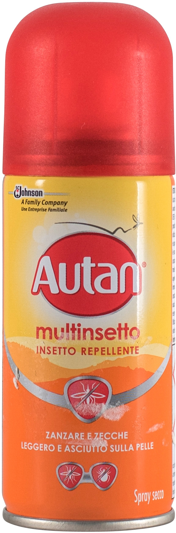 MULTINSETTO -INSETTO REPELLENTE - SPRAY SECCO