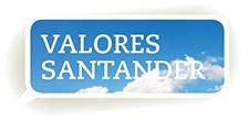 Valores del Santander
